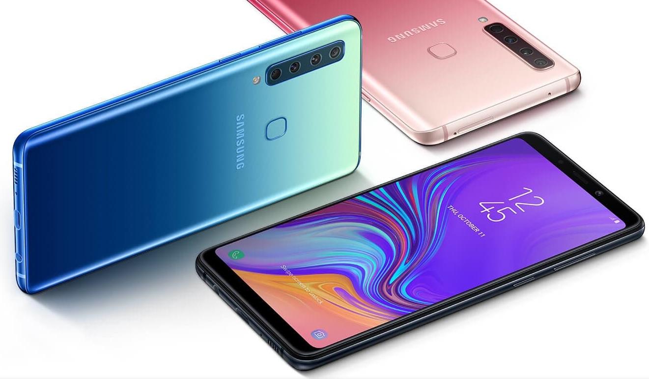 Samsung Galaxy A9 (2018) berrikuspena.  Atzeko aldean 4 Lehen telefonoa kamera batekin!