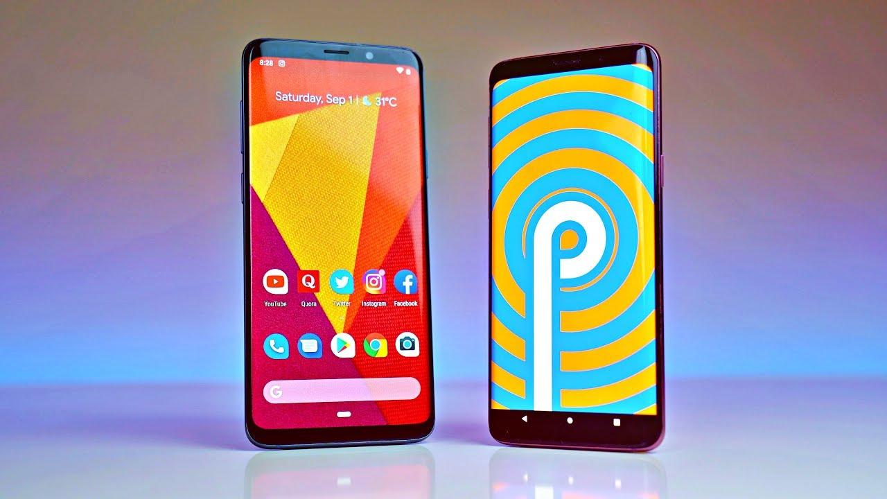 Galaxy Android Pie S9 Amerikan dago!