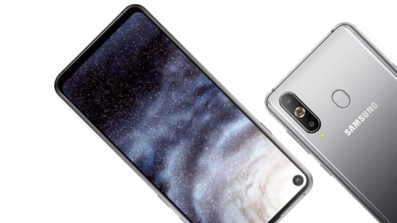 Infinity-O pantaila Galaxy A8s sartzen da!  Eskaera Galaxy A8 funtzioak!