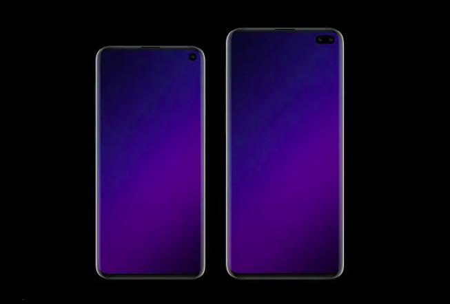 Galaxy S10, S10 Lite eta S10 + pantailaren tamainak filtratu dira!
