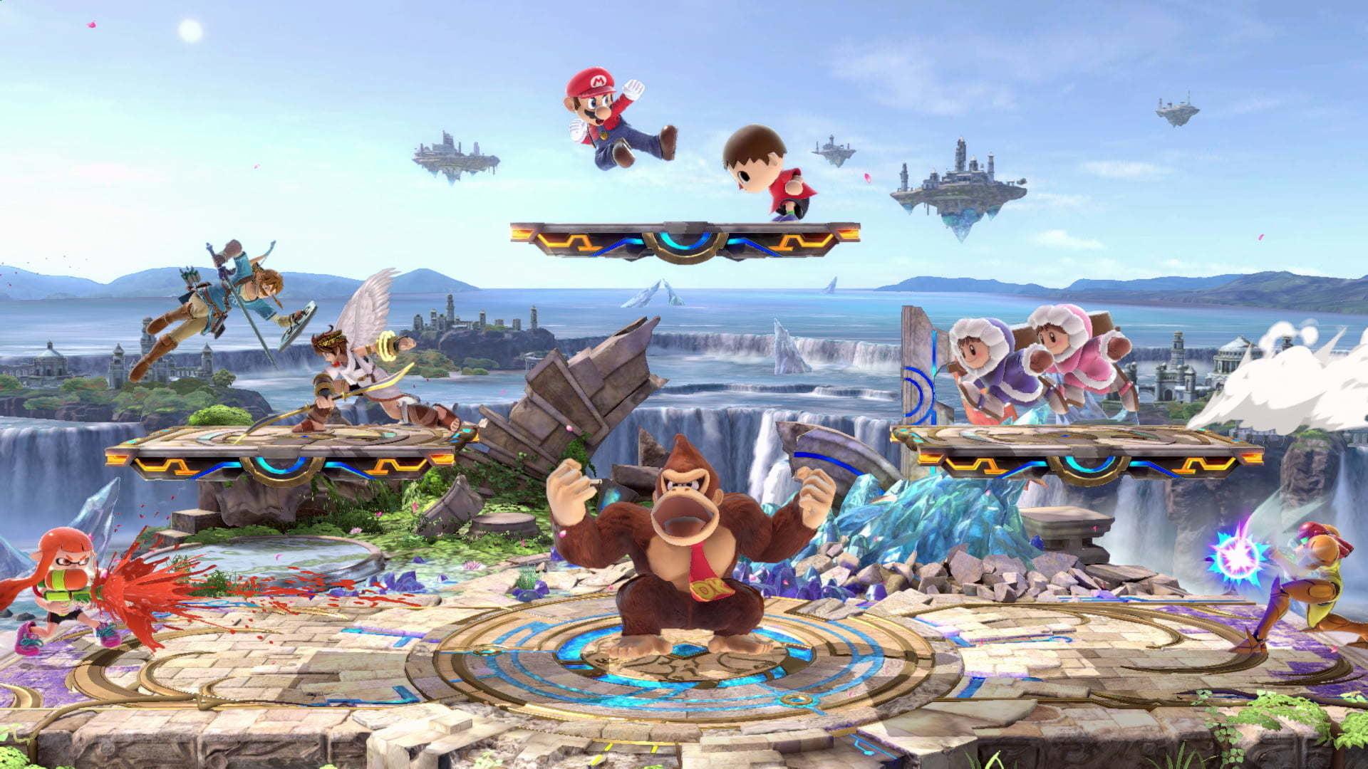 Super Smash Bros.  Iragarri diren azken berrikuspenen puntuazioak!