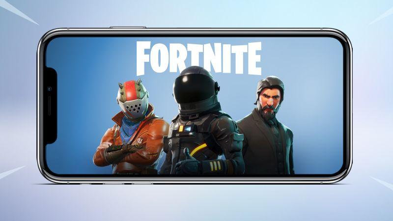 Fortnite 60 FPS-erako IPhone X-ak beharrezkoak!