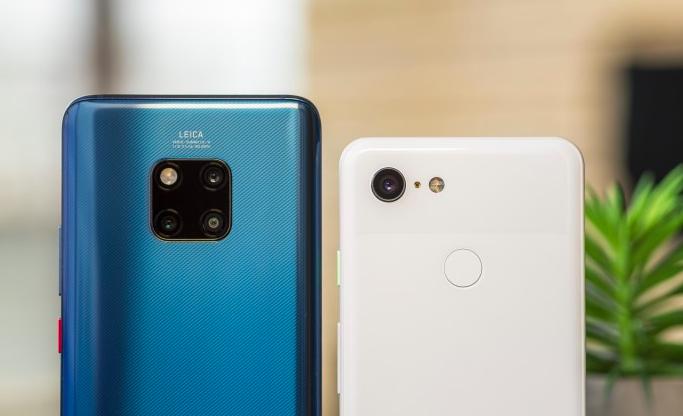 Huawei Mate 20 Pro eta Google Pixel 3 kameraren konparazioa