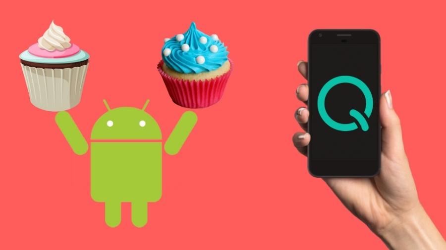 Android Q-k egindako pixela 3 XL agertu zen!