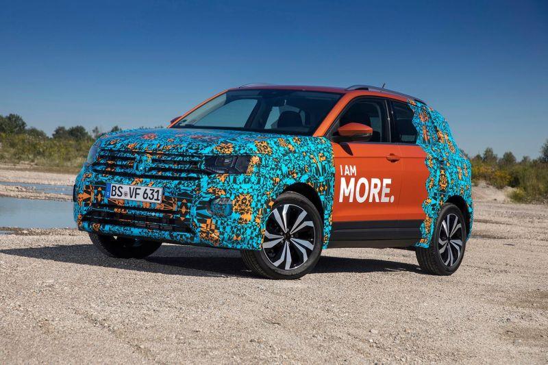 Volkswagen T-Crossek zure aurpegia erakutsiko du orduen ondoren!