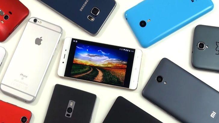 2500 TL azpiko smartphone onenak (2018ko urria)