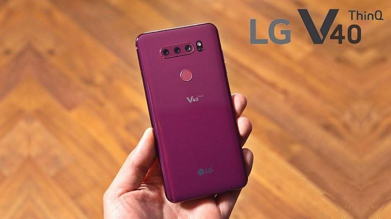 Zein Android bertsiorekin LG V40 ThinQ etorriko da?
