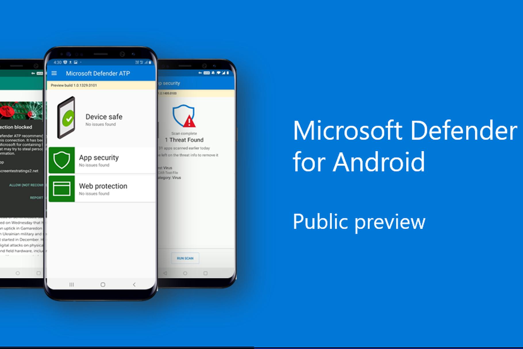 Microsoft Defender Android-era dago!