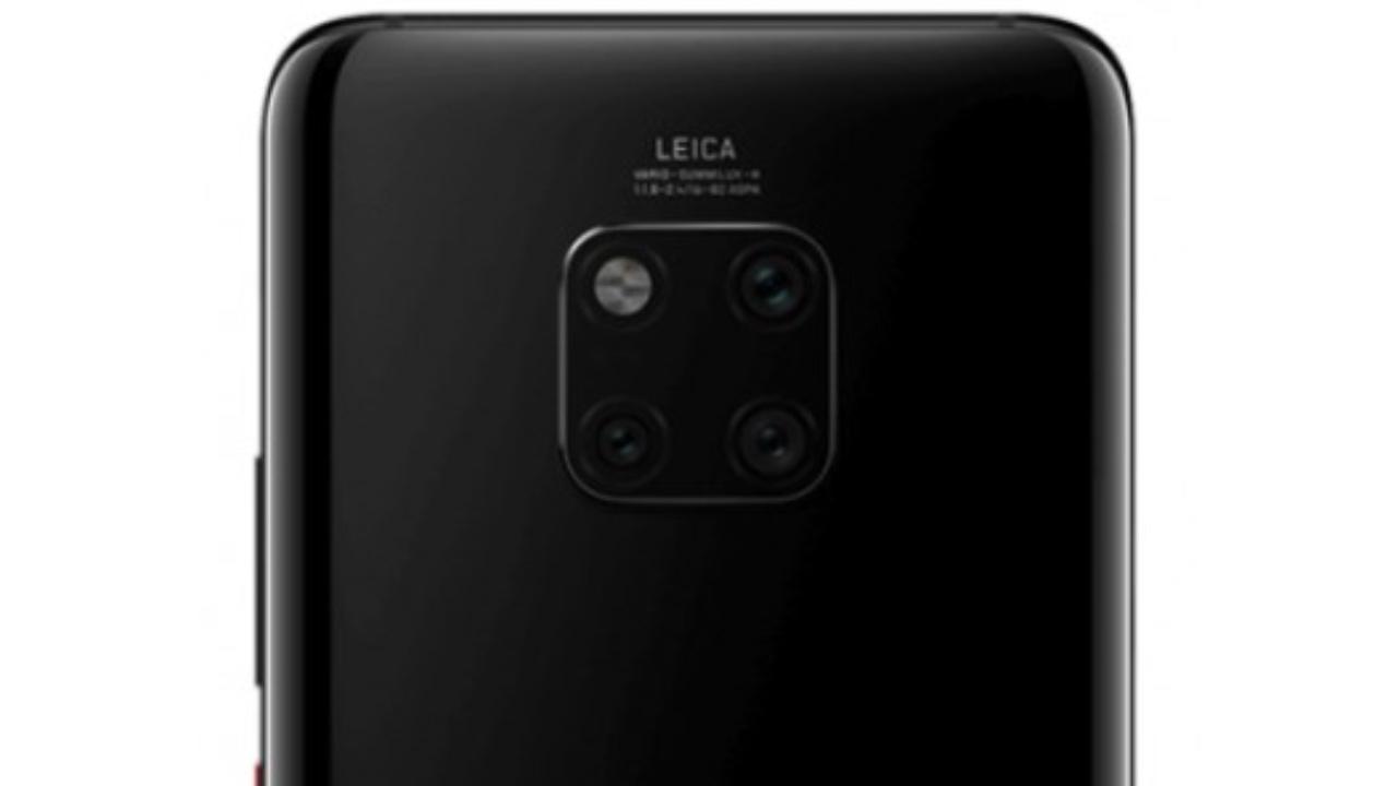 Huawei Mate 20 Pro atzeko hiru kamerarekin filtratu zen!