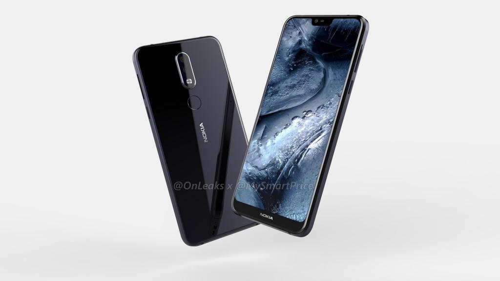 Nokia 7.1 Plus-en irudi berriak filtratu ziren