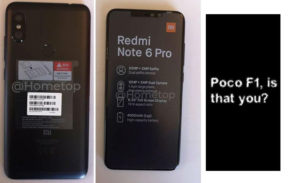 Xiaomi Redmi Oharra 6 Pro-ren zuzeneko bideoa kaleratu dute