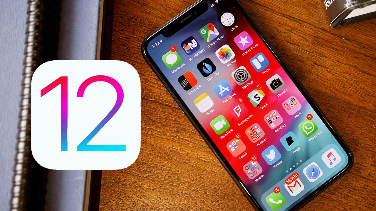 12 iOS eguneratzea gutxitan kaleratuko da Turkian?
