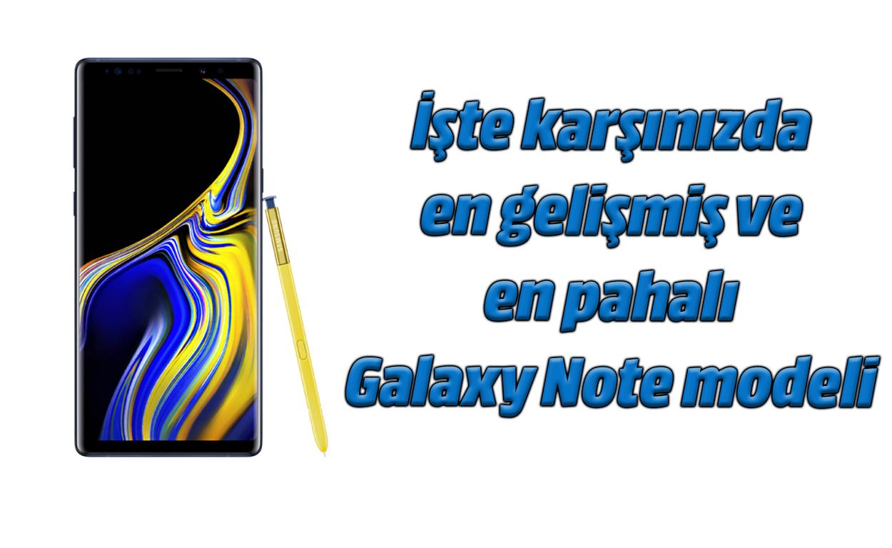 Samsung Galaxy Ohar 9 bideoaren berrikuspena