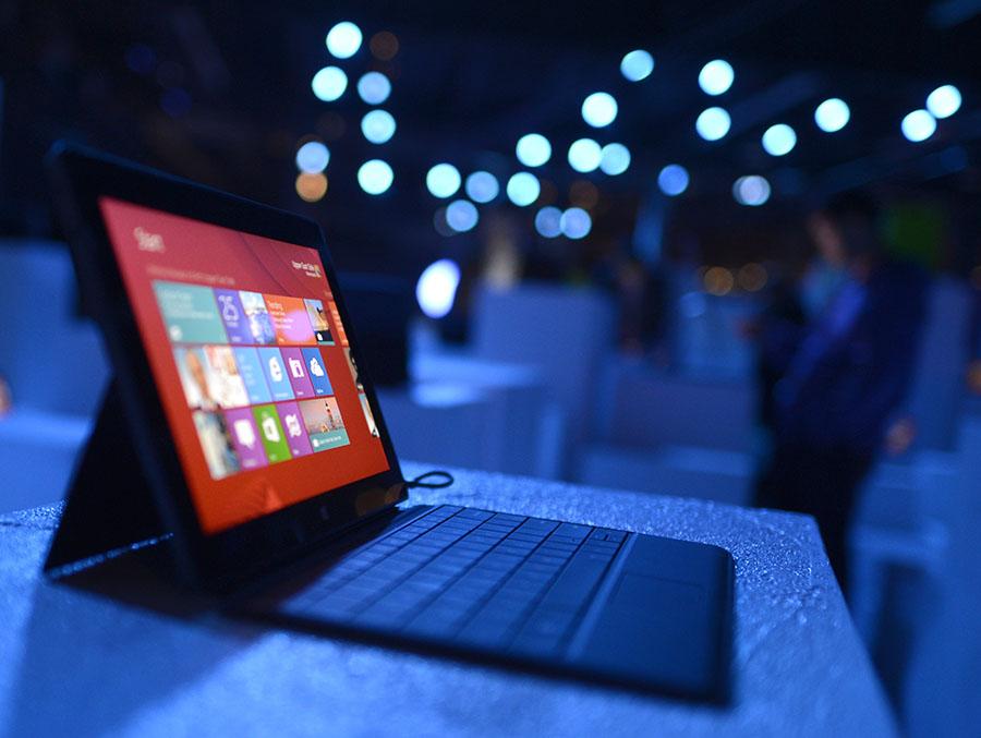 Microsoftek historia egin zuen Azaleko modelo berriengatik