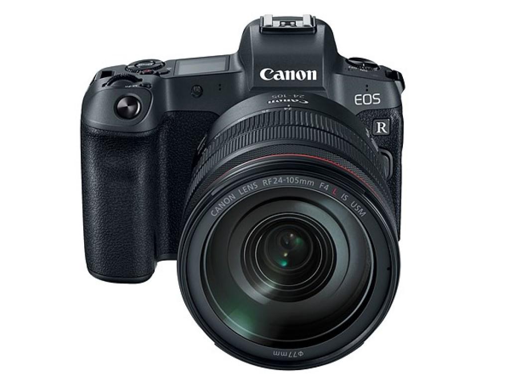 Canon EOS R: Canon-ek kamera osorik gabeko ispilu kamera iragarri du