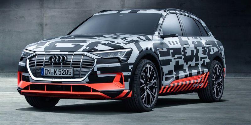 Audi e-tron SUV produkzio-lerroan sartzen da!