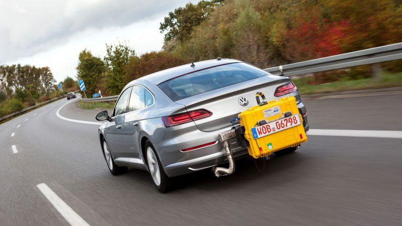 Volkswagen Taldea klasean geratzen da Ibilgailu Arineko proba orokorrean bateragarriak diren probetan.