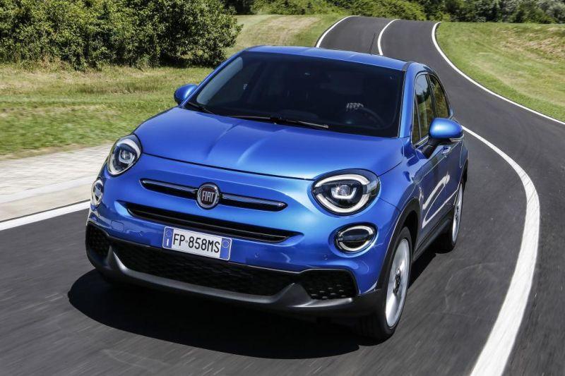 Fiat 500X lau urte geroago berritu zen!