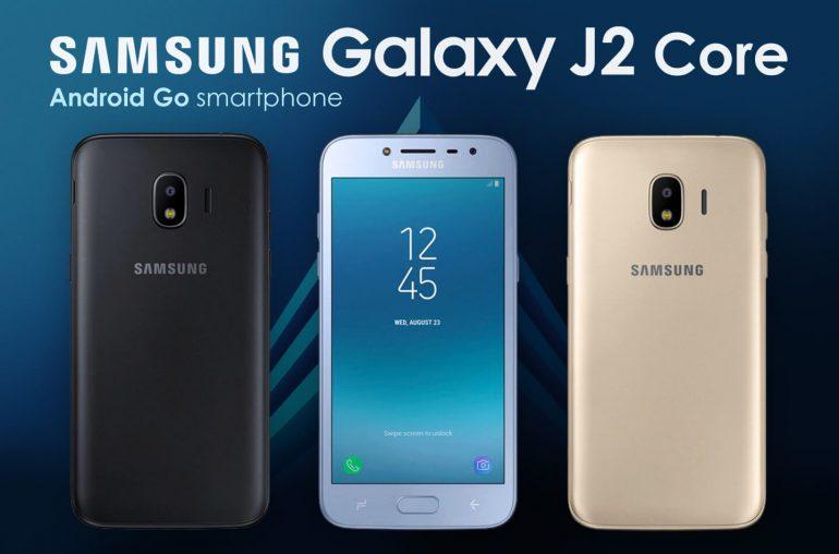 Samsung Android Go exekutatzen Galaxy J2 Core-k filtratu du!