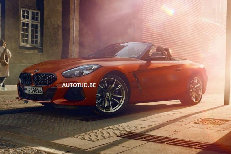 2019 BMW Z4 irudiak filtratu ziren!