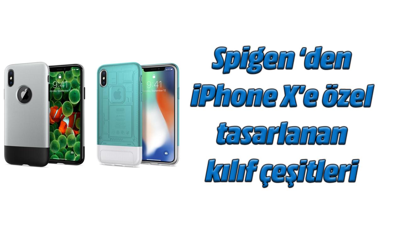IPhone X Spigen Classic One eta Classic C1 kasuekin bota genuen