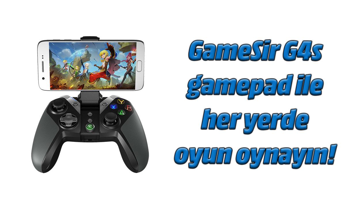 GameSir G4s Gamepad berrikuspena