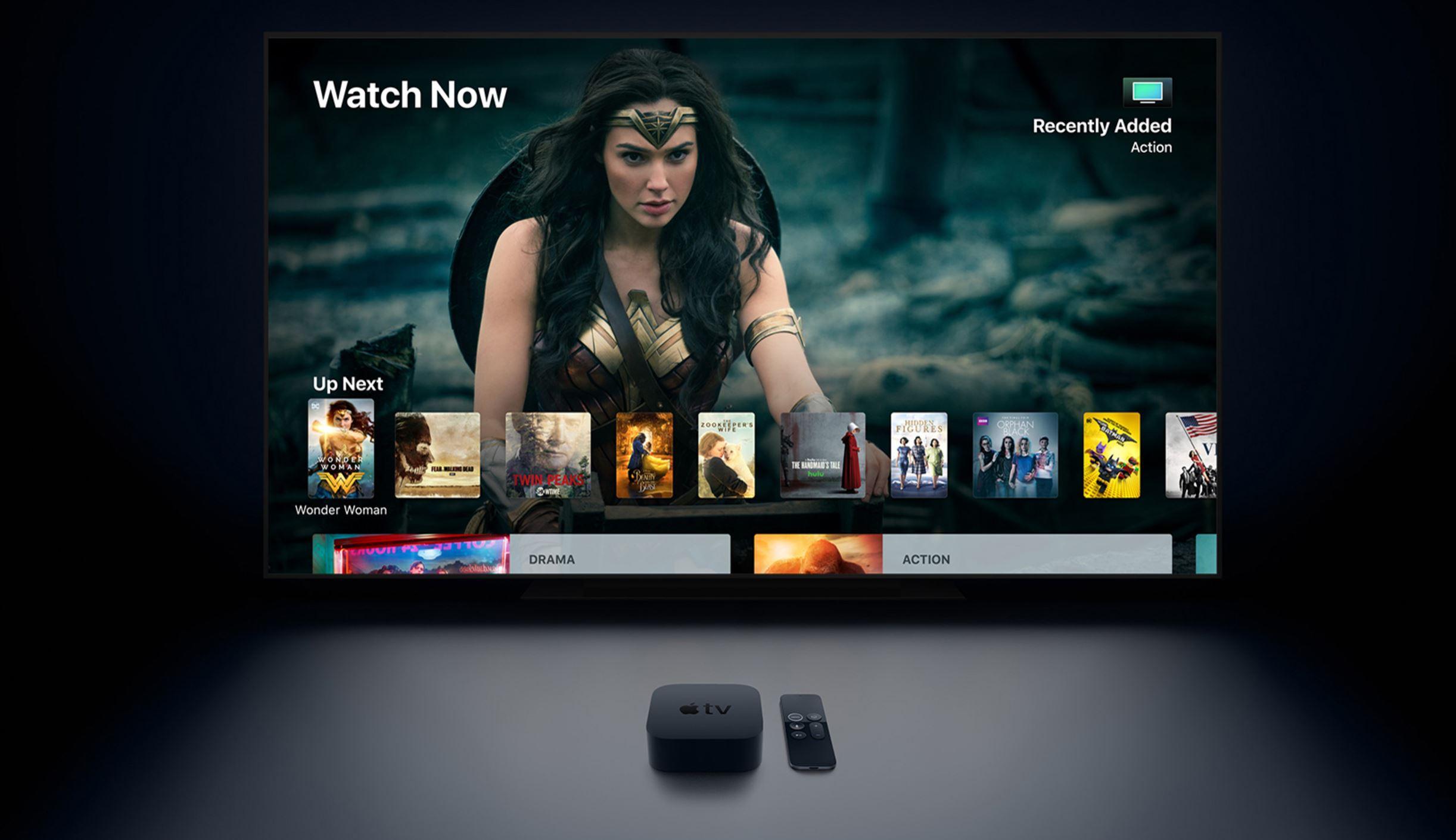 Apple TV 4K-k Dolby Atmos-ek onartzen du