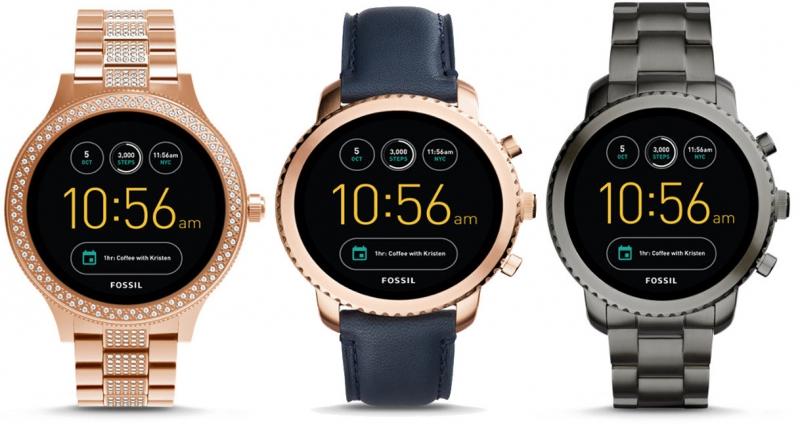 Fossil-en bi smartwatches berri: Venture eta Explorist