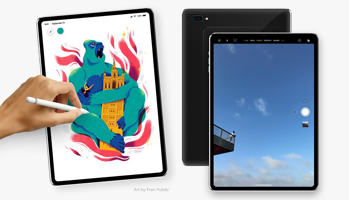 iPad 2018 modeloek ez dute diseinu notchedik