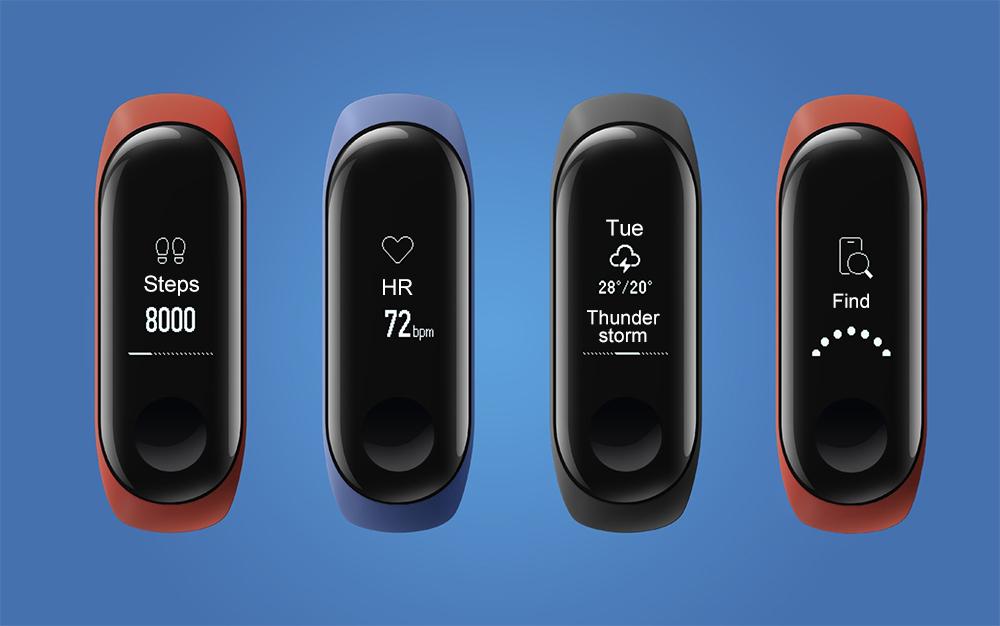 Xiaomi Mi Banda 3 Zer eskaintzen die erabiltzaileei bere ezaugarriekin?