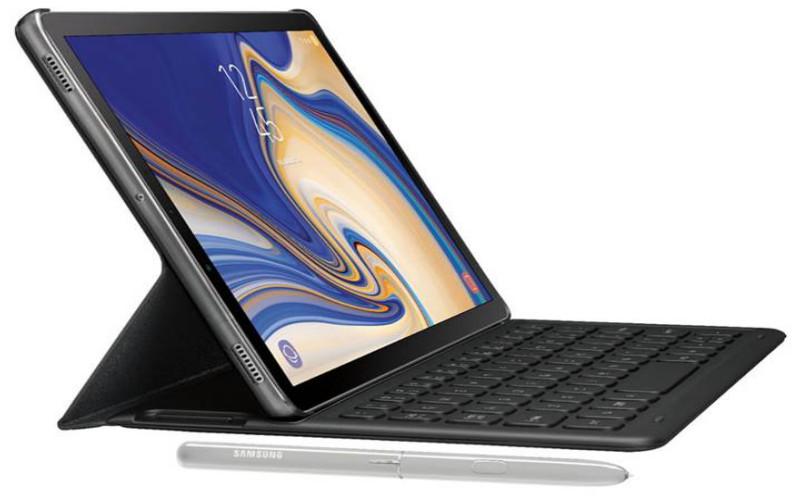 Galaxy Tab S4-ak iris eskanerra izango du