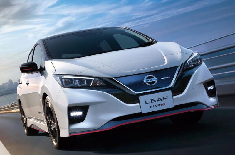 Oso espero den Nissan Leaf Nismo agertu da!