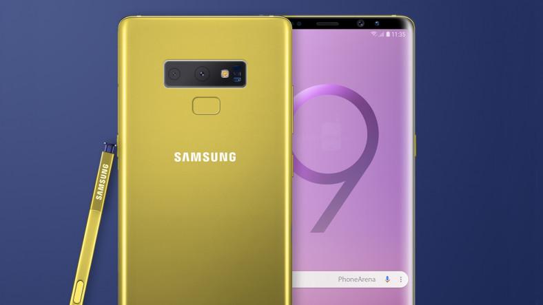 Samsung Oharra 9 Aurre-aginduak prestatzen