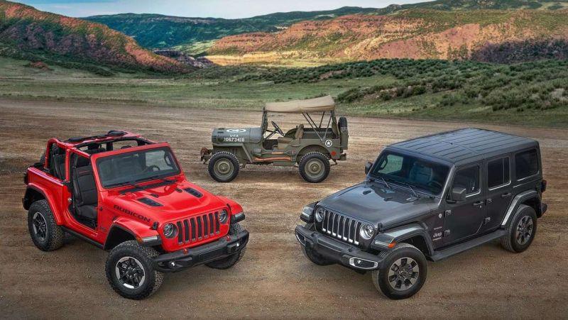 Jeep Wrangler Europan lurreratzeko prestatzen ari da!