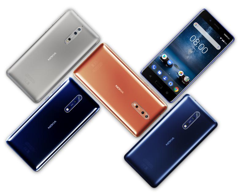 Gure herrialdean saltzen diren Nokia modelo merkeenak