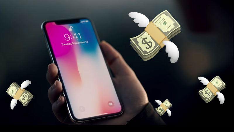 iPhone X-k bigarren eskuko prezioak hegan egin zituen!