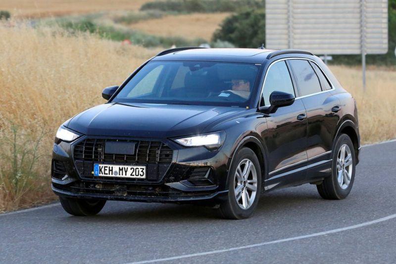 Horrela harrapatu zituzten Audi Q3 espioi kamera berriak!