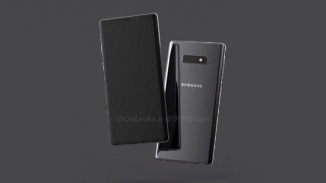 Samsung Galaxy Ohar 9 bere lehen ziurtagiria lortu du