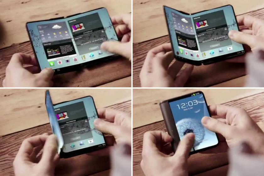 Galaxy Bi pantaila eta X bateria tolestuta egongo dira