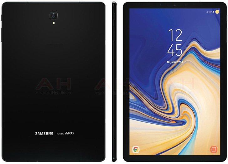 Samsung Galaxy Tab S4 itxura izango da!