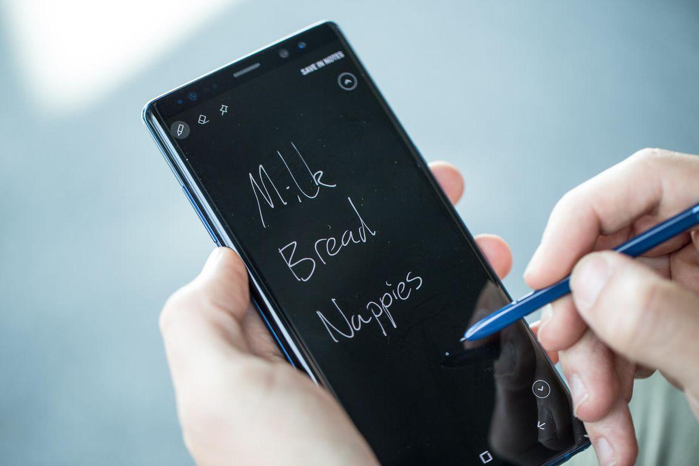 Galaxy Ohar 9 iraultza S-Pen berriarekin