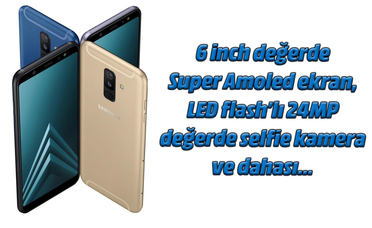 Samsung Galaxy A6 + kameraren xehetasunak berrikustea