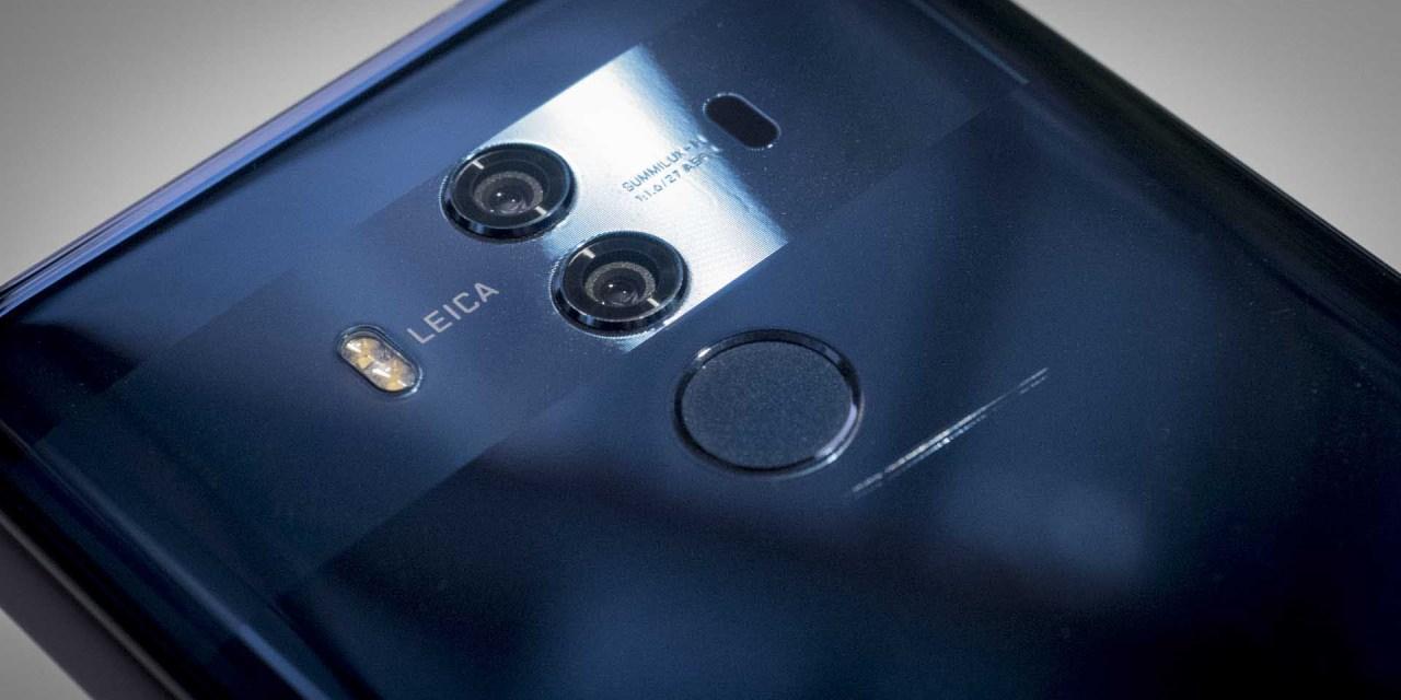 Huawei Mate 10 Pro-ren aurpegiaren aitorpena iritsi da!