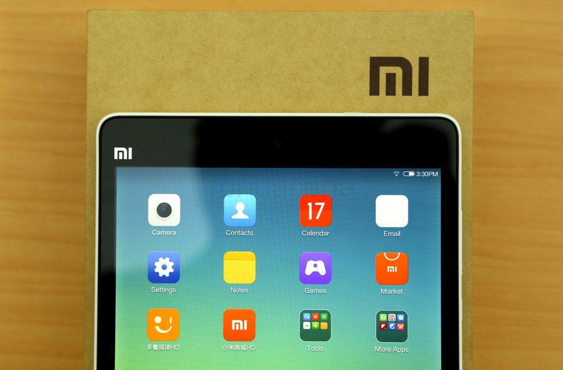 Xiaomi Mi Pad 4aurpegiaren errekonozimenduarekin etorriko da