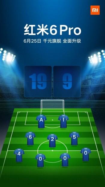 Xiaomi Redmi 6 Pro kaleratzeko data iragarri da