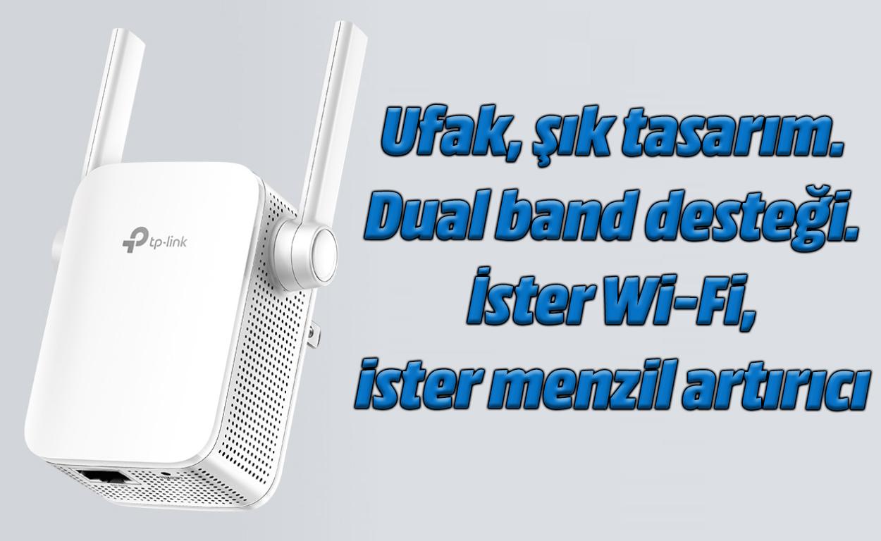 TP-Link RE305 AC1200 Wi-Fi hedatzaileen berrikuspena