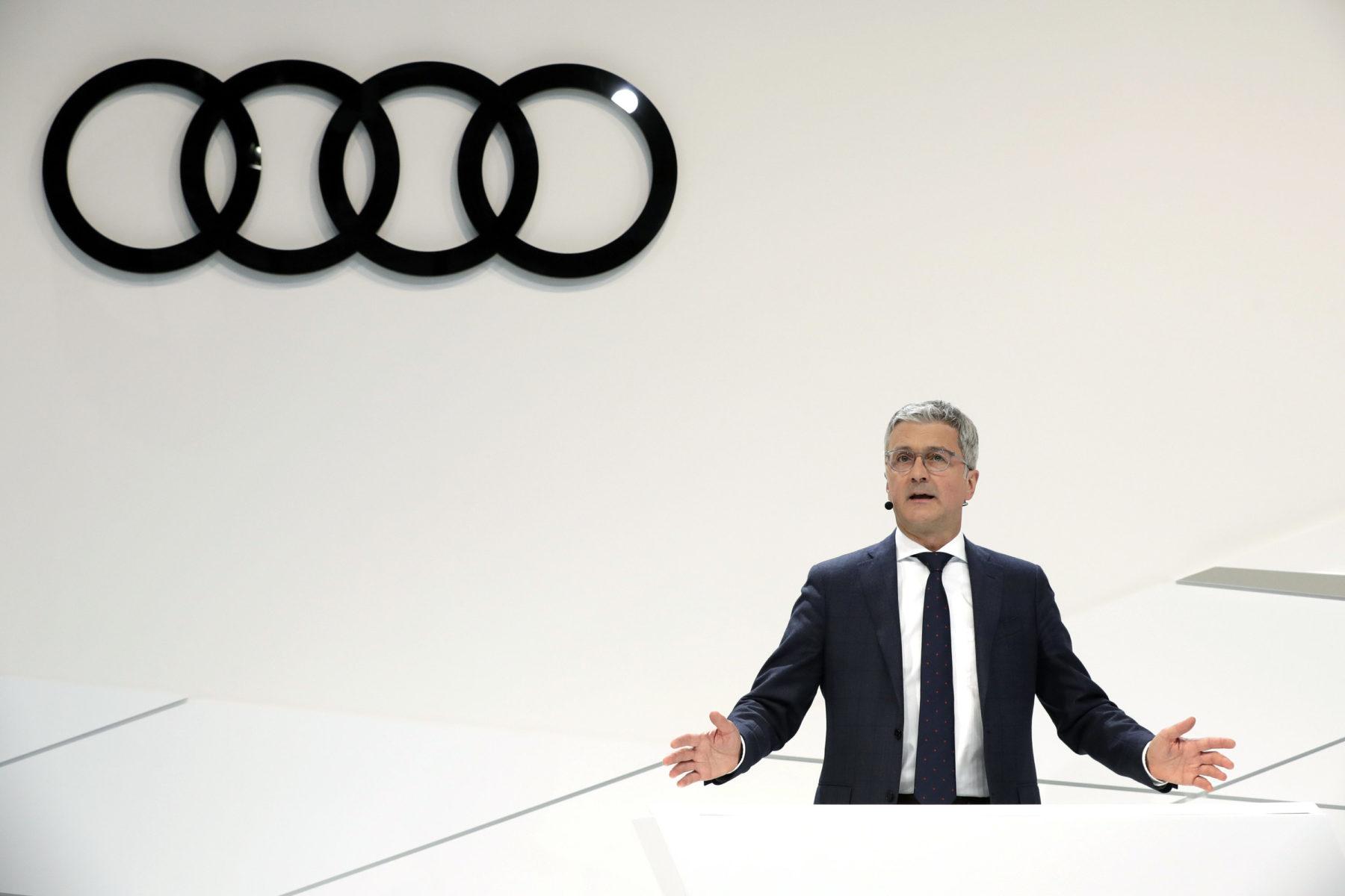 Audi CEO Rupert Stadler atxilotu zuten!