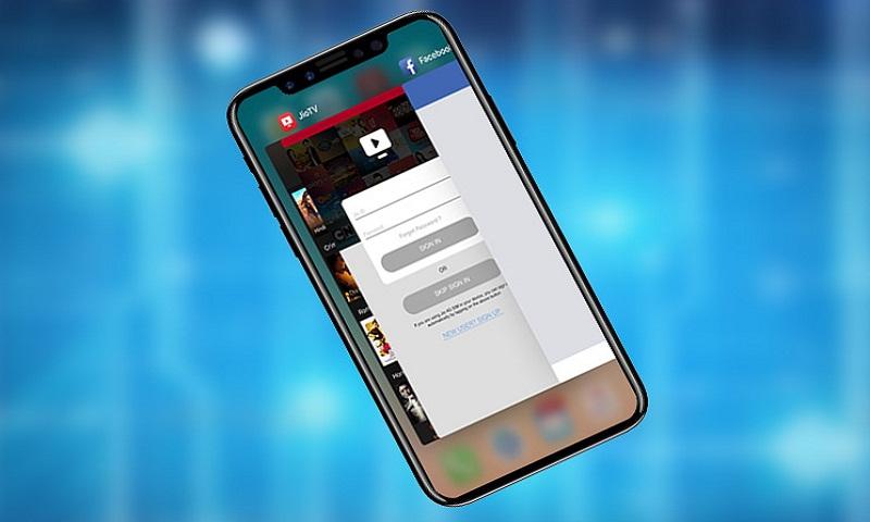 Erraza da aplikazioak iOS 12rekin ixtea