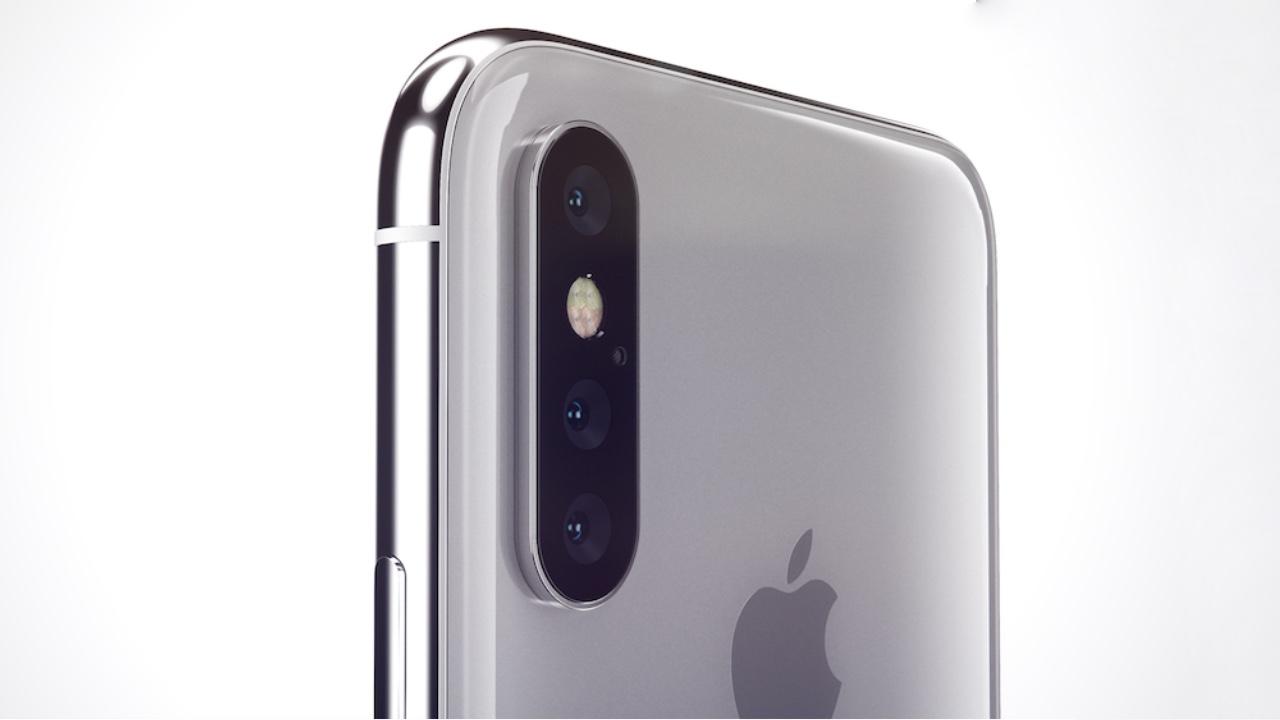 Hiru kameraren iPhonea dator!
