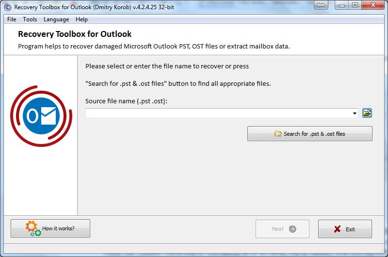 Nola berreskuratu datuen ustelkeria arazoak Microsoft Outlook-en 2